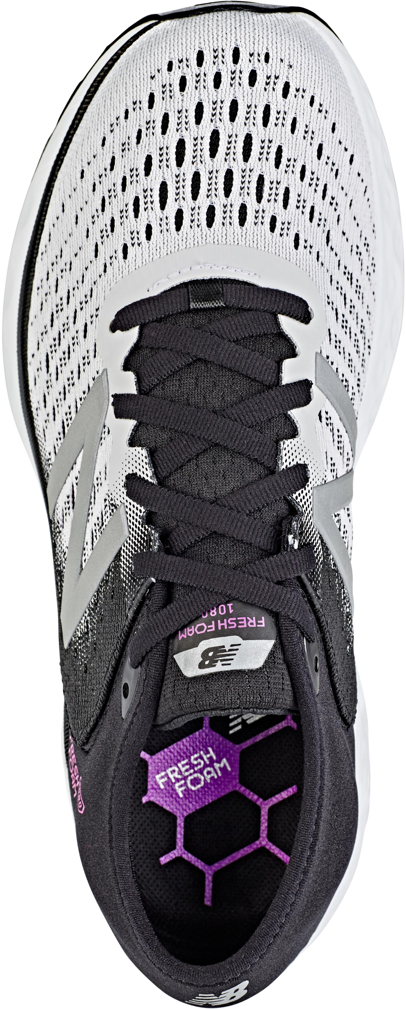 72ea3bc3 New Balance 1080 V9 Shoes Damer, white/black | Find cykeltilbehør på ...